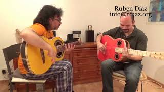Thumb tips 2 / Learn Paco de Lucia´s technique/ Ruben Diaz flamenco guitar lessons Spain