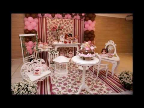 Ideias decoração festa Aniversário Jolie.