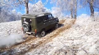 Уаз Хантер Тест-драйв Зимней резины Nokian Nordman 5 SUV(, 2014-12-02T20:23:45.000Z)