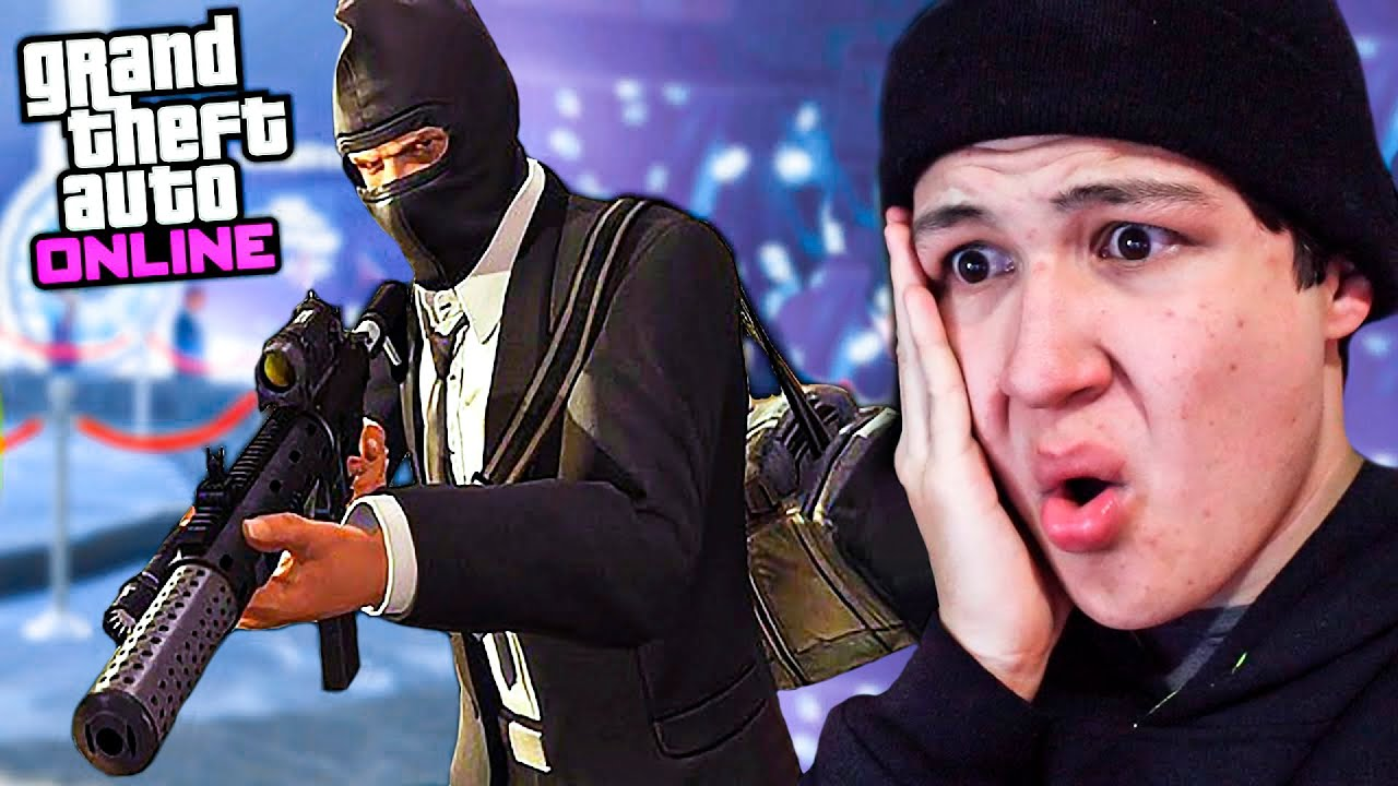 ROBO AL CASINO! MISIÓN FINAL!! GTA 5 ONLINE - Grand Theft Auto V DLC Casino Heist
