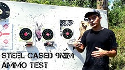Steel Cased 9mm Ammo Test - Tulammo vs. Wolf vs. Brown Bear