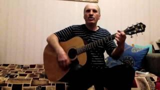 Пламя - Снег кружится, летает   (Cover На гитаре)