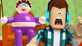 My Grandma Escape ! Roblox Obby Let's Play Video Games