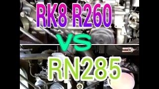 Komparasi Suara Mesin Bus HINO - RK8 R260 Versus RN285