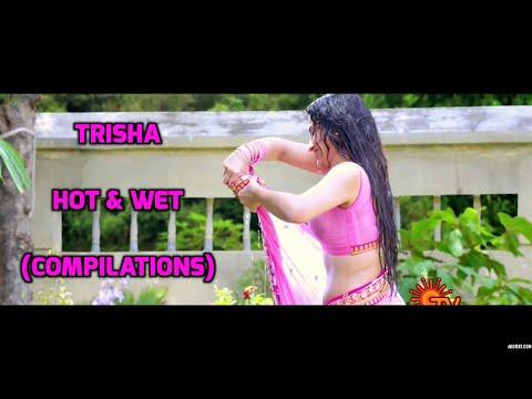 Trisha Hot Wet saree / Edit (Sexy actress) thumbnail