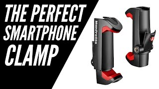 Manfrotto PIXI Clamp Review - Great for Smartphones