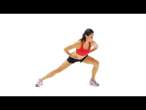 Hip, groin and inner thigh  - Adductor stretch in standing