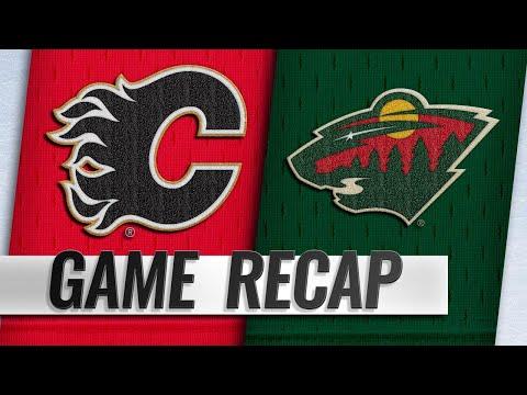 Tkachuk's goal propels Flames past Wild, 2-1