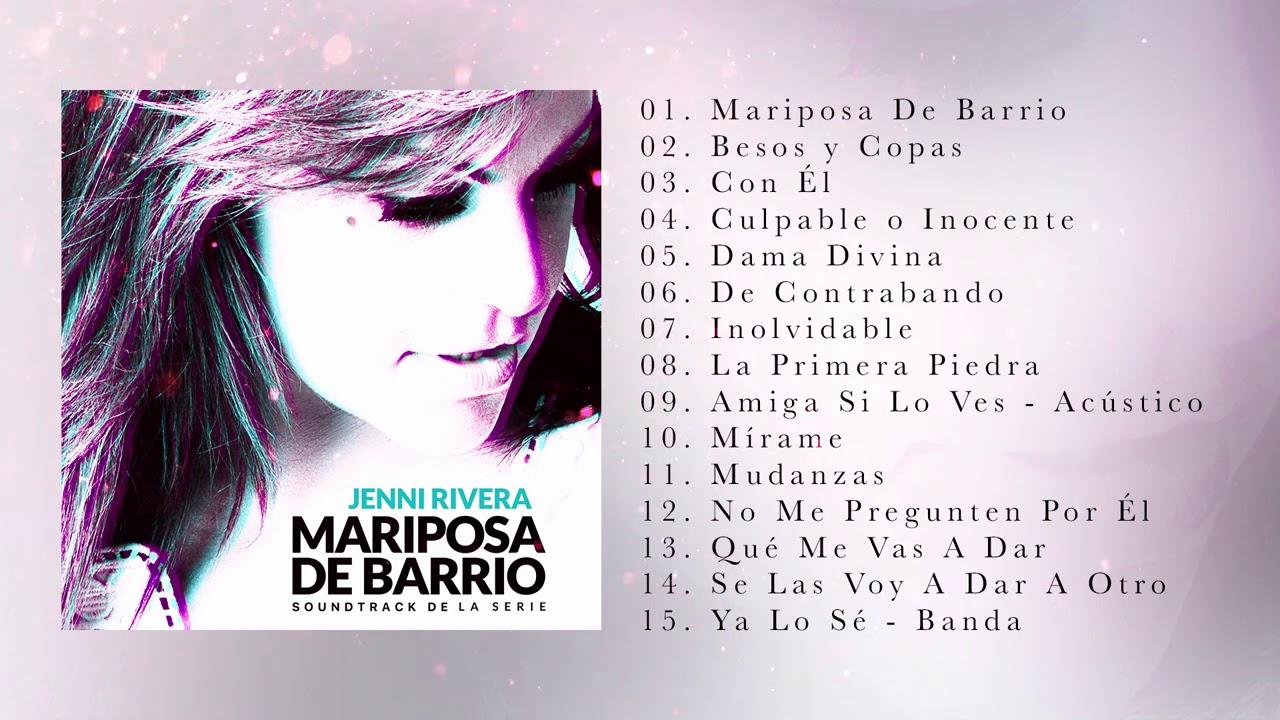 Jenni Rivera - Mariposa de Barrio (Soundtrack de la Serie)