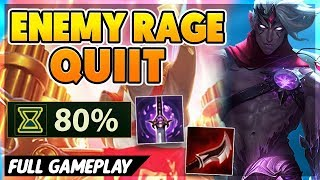 I MAKE THE ENEMY TEAM RAGEQUIT (HILARIOUS) - BunnyFuFuu Full Gameplay