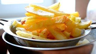 Как пожарить ВКУСНУЮ картошку фри дома на сковороде?