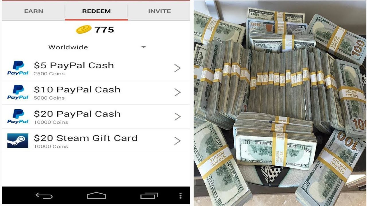 FREE PAYPAL MONEY APP THAT PAYS FAST (EASY MONEY)