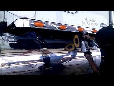 DIY How to polish aluminum tank Tony Metal Art