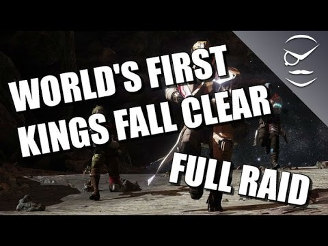 World's First King's Fall Clear! Full Raid!