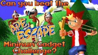 VG Myths - Can You Beat the Ape Escape Minimum Gadget Challenge?