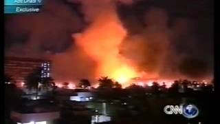 Bombs over Baghdad Live German TV iraq war 30 03 2003
