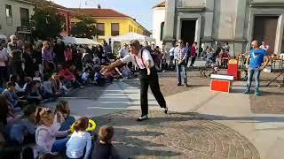 Arconate, Arconateforum:FIERA D'AUTUNNO2017 spettacolo con artista di strada
