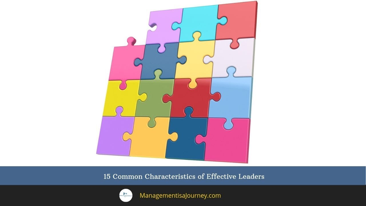 15 Common Characteristics of Effective Leaders