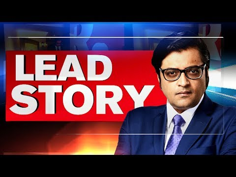 Arnab Goswami's Lead Story - Liberals Go Silent On Palghar Mob Lynching Case