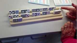Hand Crafted High Quality Wood Rack Set Custom Made Usa Standard And Professional Size Dominoes