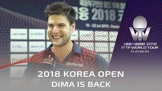 The Return of Dimitrij Ovtcharov | 2018 Shinhan Korea Open