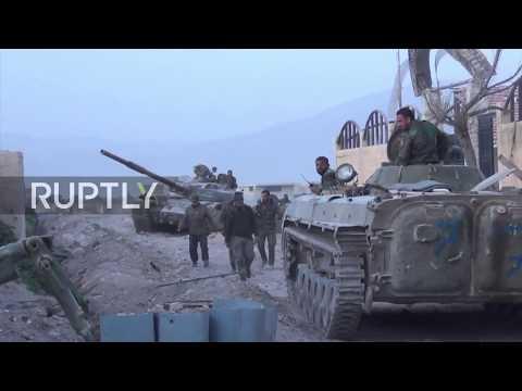 Syria: SAA regains strategic town in Eastern Ghouta