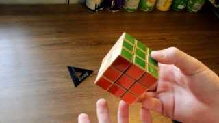 Wooden Rubiks cube unboxing and review 2014