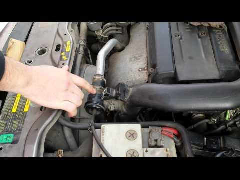 DIY: Test SAAB diverter recirculation dump valve