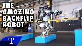 REMARKABLE ROBOT DOES STUNNING BACKFLIPS