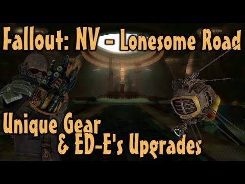 Fallout: NV - Lonesome Road - Unique Gear & ED-E's Upgrades Guide (DLC)