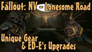Fallout NV - Lonesome Road - Unique Gear ED-E s Upgrades Guide DLC