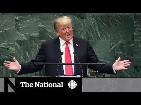 Trump\'s boasting draws laughs from UN members