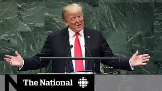 Trump's boasting draws laughs from UN members