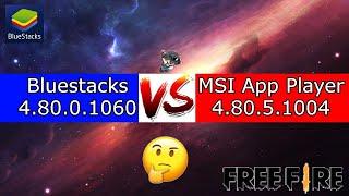 Qual é o melhor emulador Bluestacks VS MSI App Player ? 60, 90, 120, 144, 240 FPS no Free Fire ?