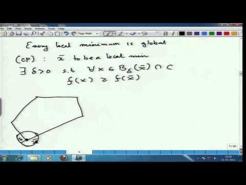 Mod-01 Lec-02  Convex Optimization