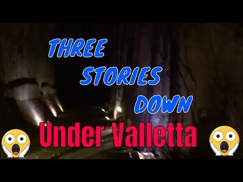 The secrets of underground Valletta 2018, MALTA