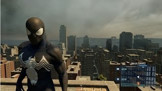 The Amazing Spider-Man 2 - Black Suit | Costume Free Roam Gameplay [HD]