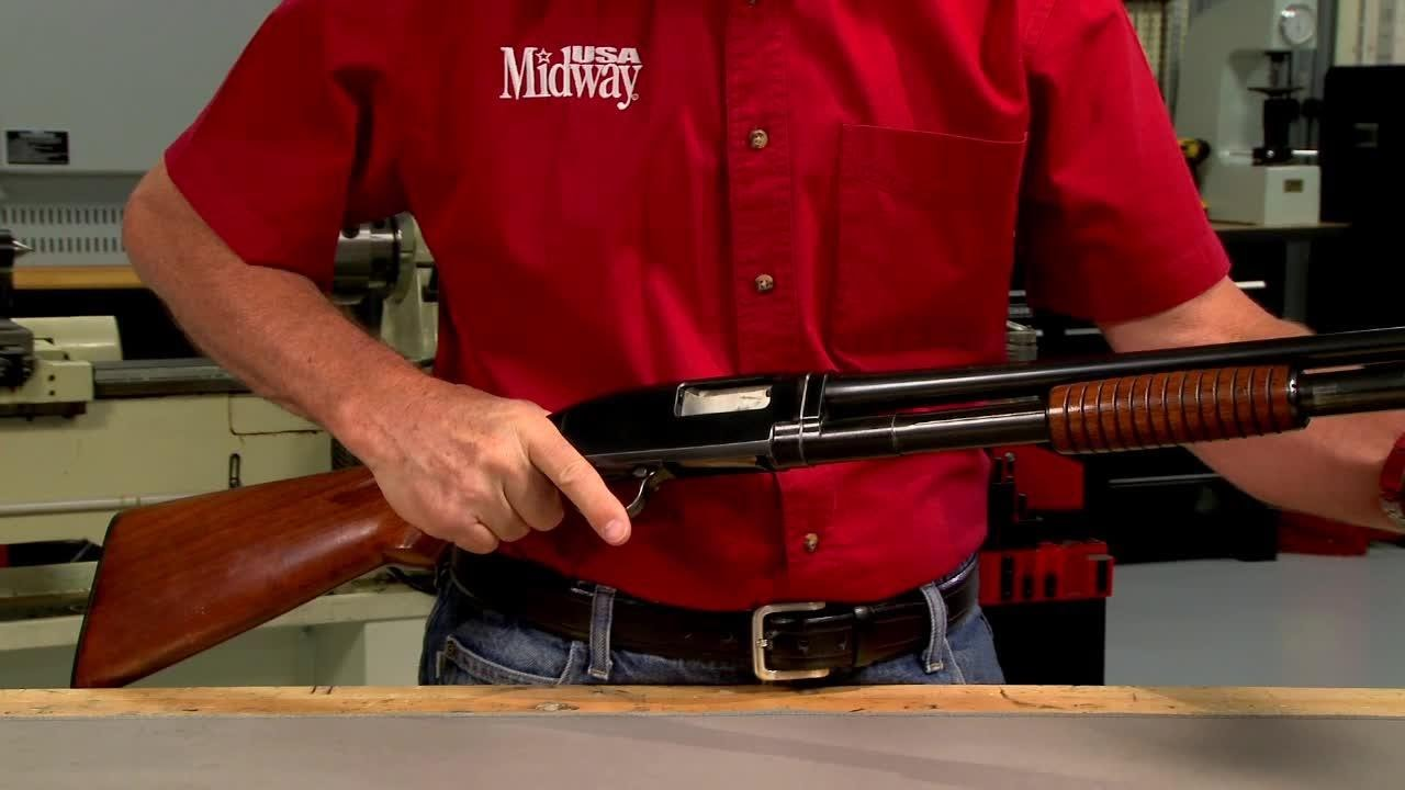 Gunsmithing - How to Tighten the Barrel and Make a New Magazine Plug for a  Winchester Model 12