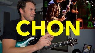 Guitar Teacher REACTS: CHON - Bubble Dream LIVE
