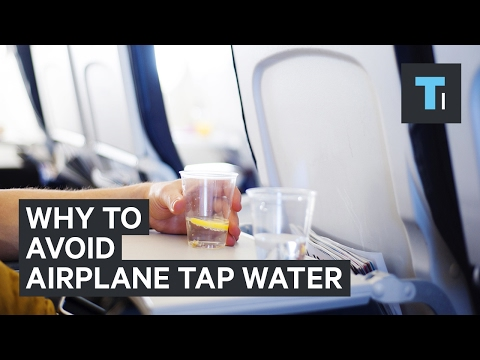 Michael J. - DON'T DRINK THE WATER ON AIRPLANES! That includes Coffee or Tea!