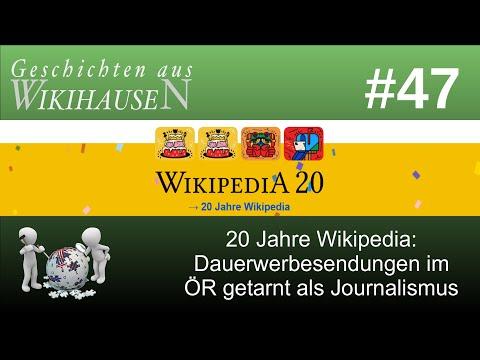 20 Jahre Wikipedia: Dauerwerbesendungen im ÖR getarnt als Journalismus | #47 Wikihausen