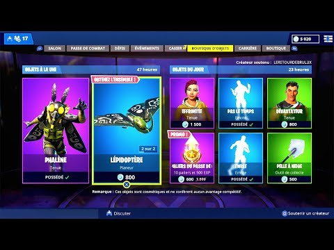 BOUTIQUE FORTNITE du 30 Novembre 2018 ! ITEM SHOP November 30 2018