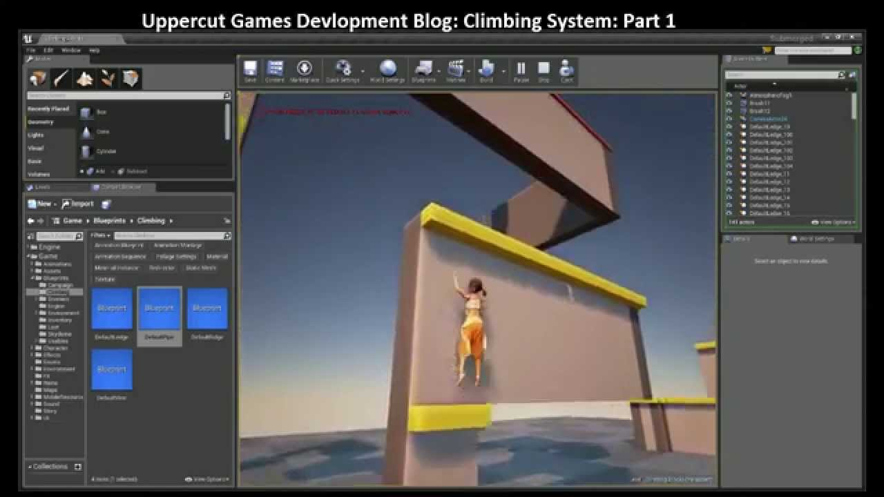 Submerged Developer Diary #2: Climbing System in Unreal Engine 4