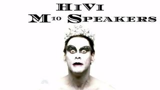 HiVi M10 Swan Speaker System