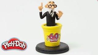 Play Doh España - 'Figura Mortadelo' Stop Motion Clip