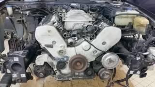Audi A8 v8 Premier démarrage de mon nouveaux moteur