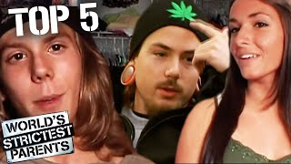Top 5 Craziest Momęnts American Teenagers Broke the Rules | World's Strictest Parents