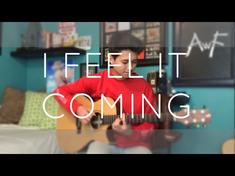 The Weeknd  I Feel it Coming ft Daft Punk   Fingerstyle Guitar