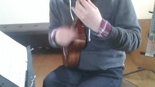 オールナイトニッポンのテーマ曲をウクレレジャカソロ演奏しました。 コ...