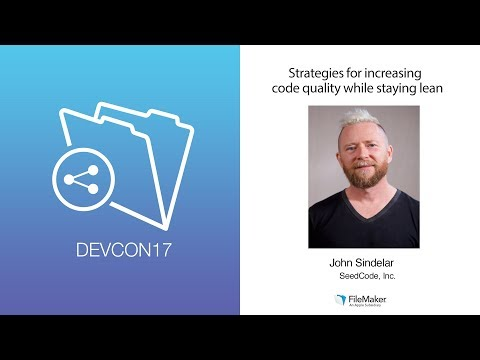 What works: Strategies for Increasing code quality while staying lean (Business Track 004)
